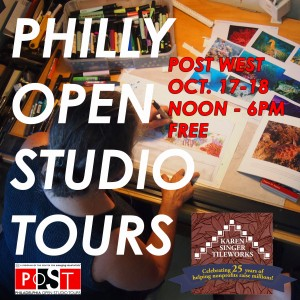 Philadelphia Open Studio Tours 2015